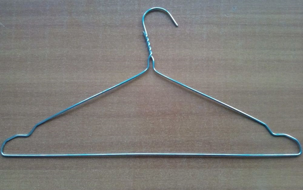Вешалка-плечики для химчистки оцинкованные 2 add88439167ed